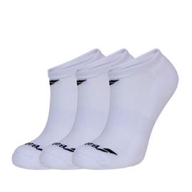 Носки Babolat Invisible 3 пары белые