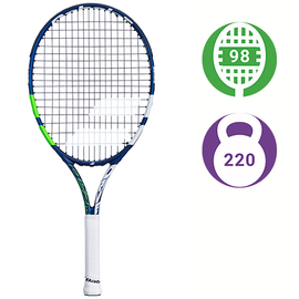 Детская теннисная ракетка Babolat Drive Junior 24 White/Green/Blue