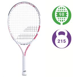 Детская теннисная ракетка Babolat Drive Junior 23 White/Pink