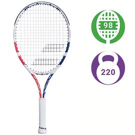 Детская теннисная ракетка Babolat Drive Junior 24 White/Pink/Blue