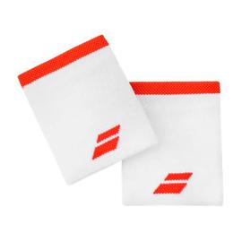 Напульсник Babolat Logo Jumbo White Orange
