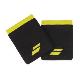Напульсник Babolat Logo Jumbo Black Yellow