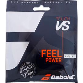 Теннисная струна Babolat VS Touch Natural Gut 1,30 Black 12 метров