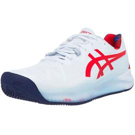 Теннисные кроссовки Asics Gel-Resolution 8 Clay White Limited Edition