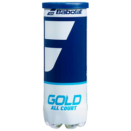 Теннисные мячи Babolat Gold All court 3 мяча