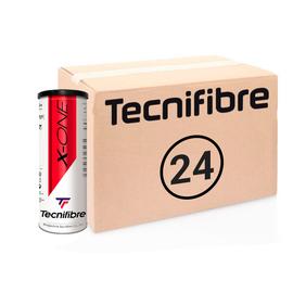 Теннисные мячи Tecnifibre X-One 72 элитные мячи в железной банке. Превосходная цена в 2021 году!