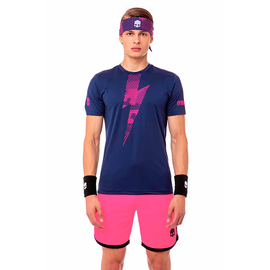 Футболка Hydrogen Tech Thunderbolt Blue Pink