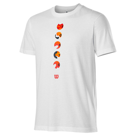Юниорская футболка Wilson Y Tokyo 2021 White