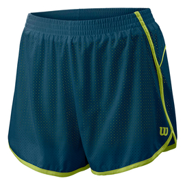 Шорты Wilson W Competition Woven 3.5 Blue/Lime