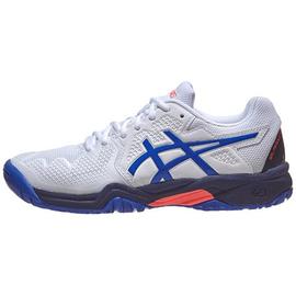 Детские теннисные кроссовки Asics Gel-Resolution 8 Blue/White
