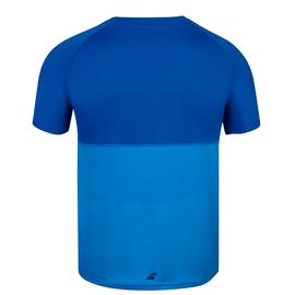 Футболка мужская Babolat Play Crew Neck Blue