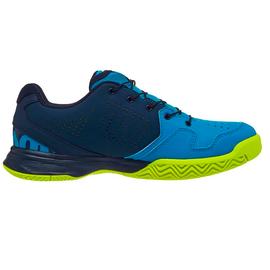 Детские теннисные кроссовки Wilson Kaos QL Barrier Reef/Navy Blazer/Lime