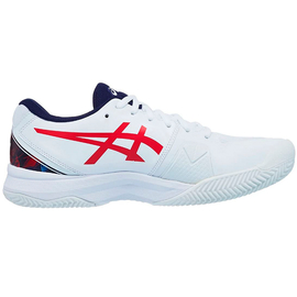 Теннисные кроссовки Asics Gel-Challenger 13 Clay White/Blue/Red Limited Edition