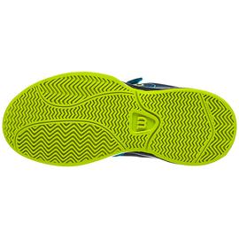 Детские теннисные кроссовки Wilson Kaos Barrier Reef/Navy Blazer/Lime