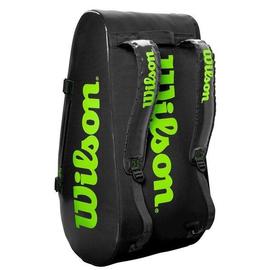 Сумка Wilson Tour 3 Comp 15 Pack Черно-зеленая