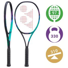 Теннисная ракетка Yonex Vcore Pro 97H 330 грамм Green/Purple. Ракетка Стэна Вавринки