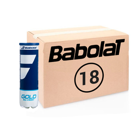 Теннисные мячи Babolat Gold All Court 72 мяча (18*4)