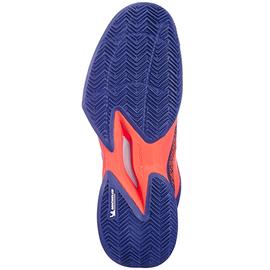 Теннисные кроссовки Babolat Jet Mach 3 Clay Court Синий/Оранжевый