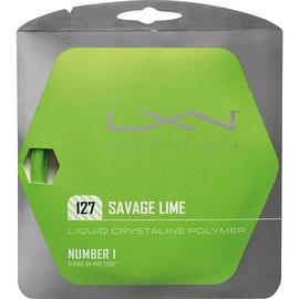 Теннисная струна Luxilon Savage Lime 127 12 метров