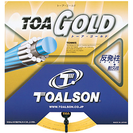Теннисная струна Toalson Toa Gold 1.30 12 метров