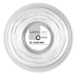 Теннисная струна Luxilon Savage White 127 200 метров