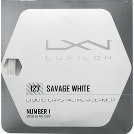 Теннисная струна Luxilon Savage White 127 12 метров