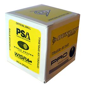 Мячи для сквоша Dunlop Pro 12 штук