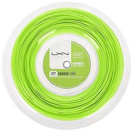 Теннисная струна Luxilon Savage Lime 127 200 метров