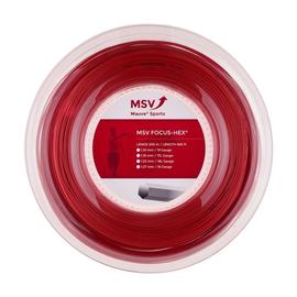 Теннисная струна MSV Focus-Hex Red 1.23 200 метров
