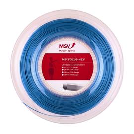 Теннисная струна MSV Focus-Hex Blue 1.23 200 метров
