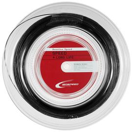 Теннисная струна Isospeed Baseline Speed+Long Life Black 1.25 200 метров