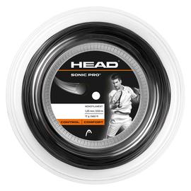 Теннисная струна Head Sonic Pro Black 1.30 200 метров