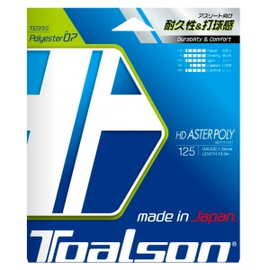 Теннисная струна Toalson HD Aster Poly 1.25 Black 12 метров