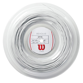 Теннисная струна Wilson Revolve 1,35 White 200 м