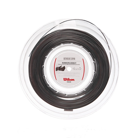 Теннисная струна Wilson Revolve Spin 1.25 Black 200 метров