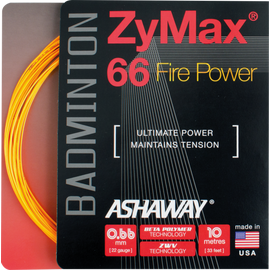 Струна Ashaway ZYMAX® 66 Fire Power 10 метров