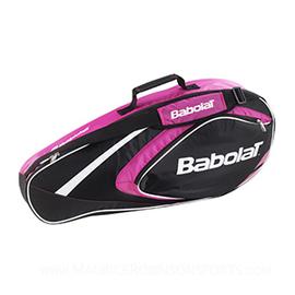 Чехол для бадминтонных ракеток Babolat Club Line Pink 4 ракетки