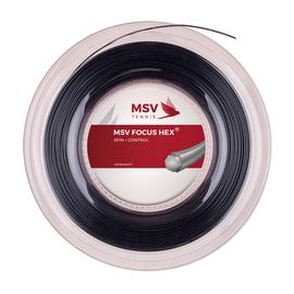 Теннисная струна MSV Focus-Hex Black 1.27 200 метров