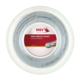 Теннисная струна MSV Hepta-Twist 1.25 200м Белая
