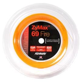 Струна для бадминтона Ashaway ZyMax 69 Fire Orange 200 метров