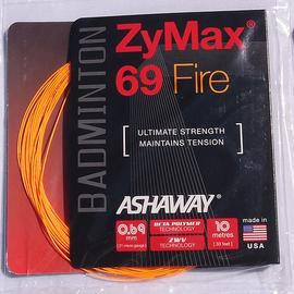 Струна Ashaway ZYMAX® 69 Fire 10 метров