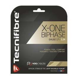 Теннисная струна Tecnifibre X-One Biphase 1.24 комплект 12 м