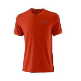 Теннисная футболка Wilson Urban Wolf 2 Оранжевая