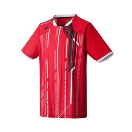 Бадминтонная футболка для мальчиков Yonex красная