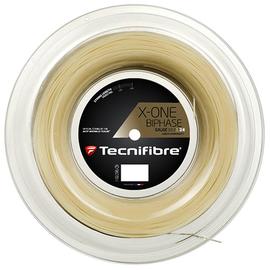 Теннисная струна Tecnifibre X-One Biphase 1.24 200 м