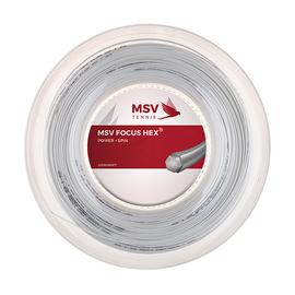 Теннисная струна MSV Focus-Hex White 1.23 200 метров
