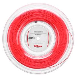 Теннисная струна Wilson Revolve Twist 1.3 Red 200 метров