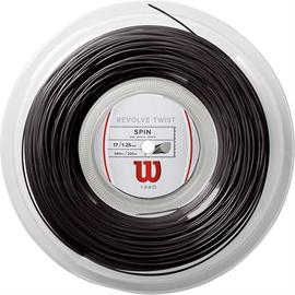 Теннисная струна Wilson Revolve Twist 1.25 Black 200 метров