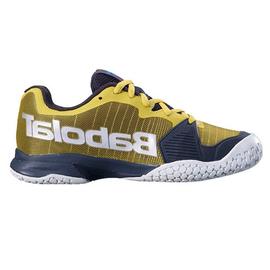 Детские теннисные кроссовки Babolat Jet All Court Black/Yellow
