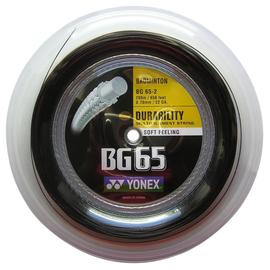 Струна для бадминтона Yonex BG 65 200m Black
